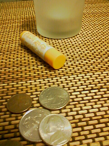Lip Balm with Quarters